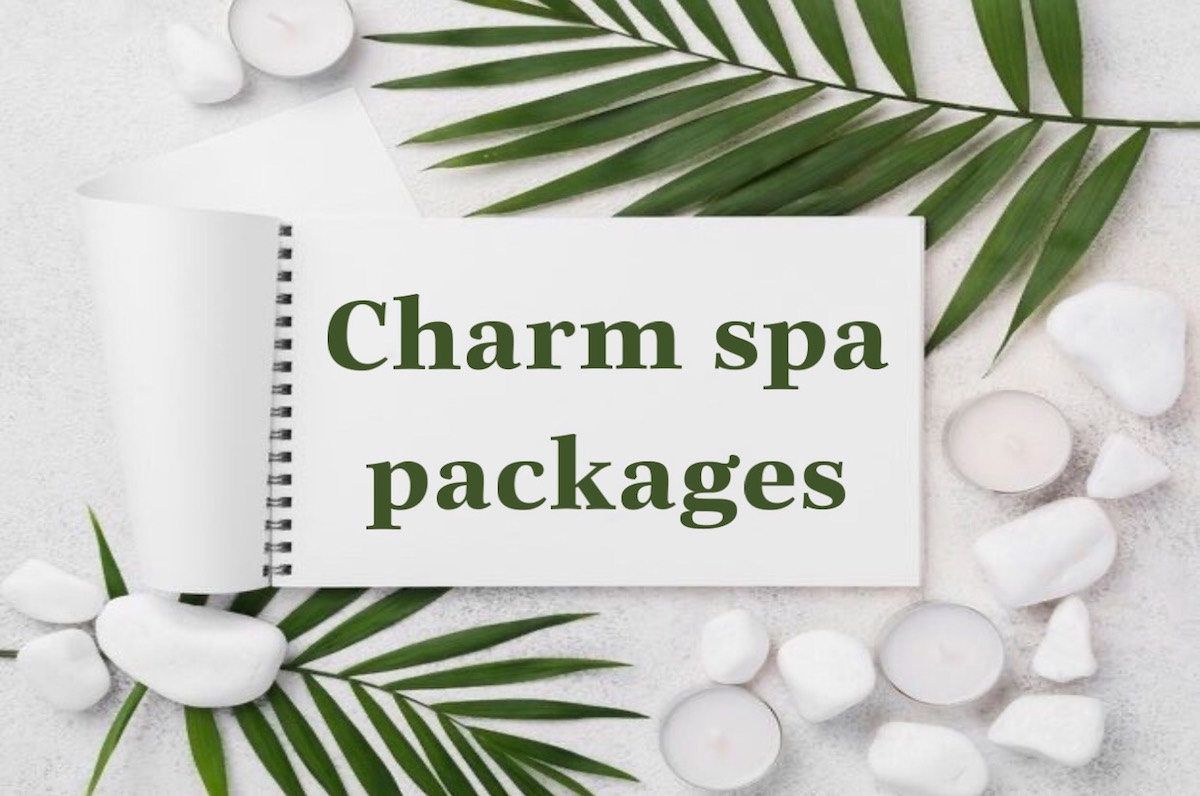 charm spa packages