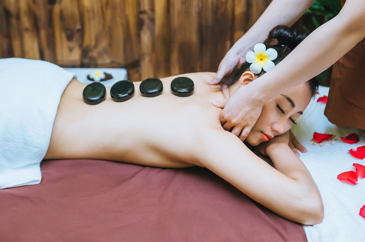massage hotstone